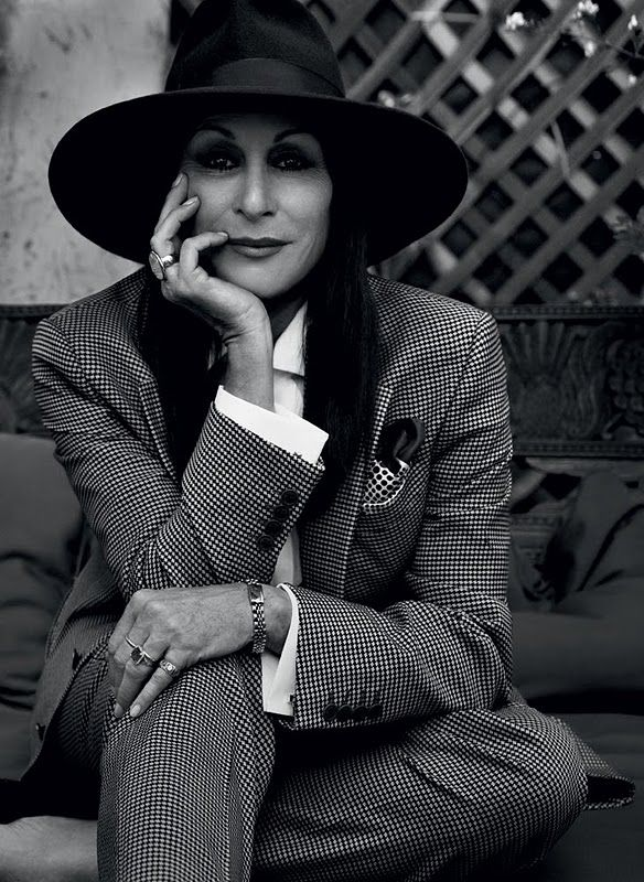 """Wes [Anderson] understands the dilemma, that when women become too forceful, they get accused of being masculine. If they state their opinions, or if they assert themselves, they won't be thought of as lovable or feminine.""—Anjelica Huston"