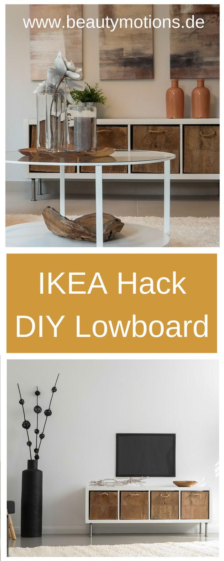 DIY Ikea Hack – Lowboard selber machen