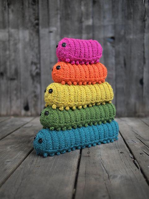 Army of Caterpillars by Miranda Harp