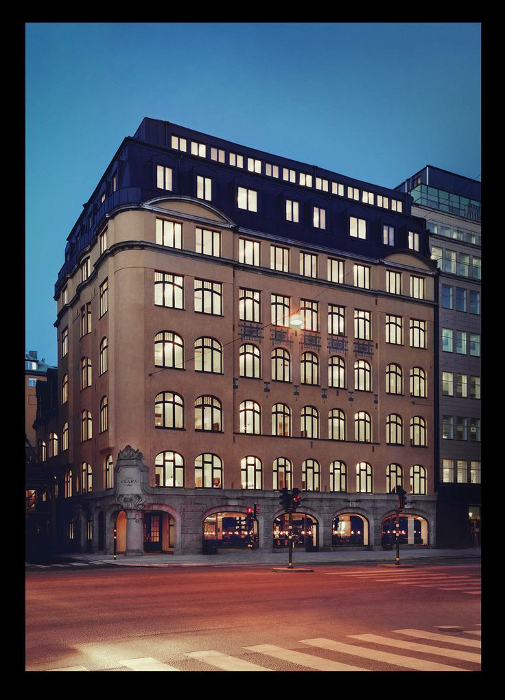 Miss Clara Hotel Stockholm, built 1910, restored by Wingårdh Architects 2014. Photo by Felix Odell.