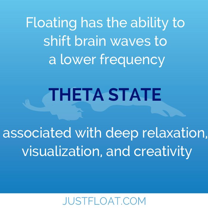 At Just Float, we've designed every detail to help our clients reach a Theta state of mind.