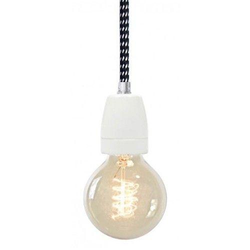 lamp porselein zwart/wit   NUDcollection   designlemonade.com