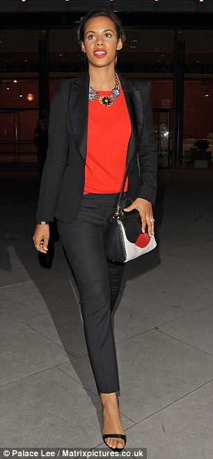 Rochelle Humes- only the british know her as yummy mummmy