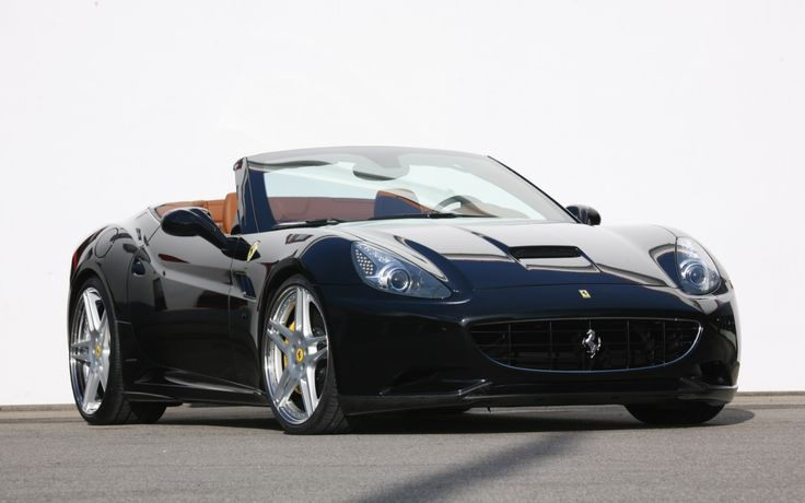 Ferrari California - I'll take it in black or red