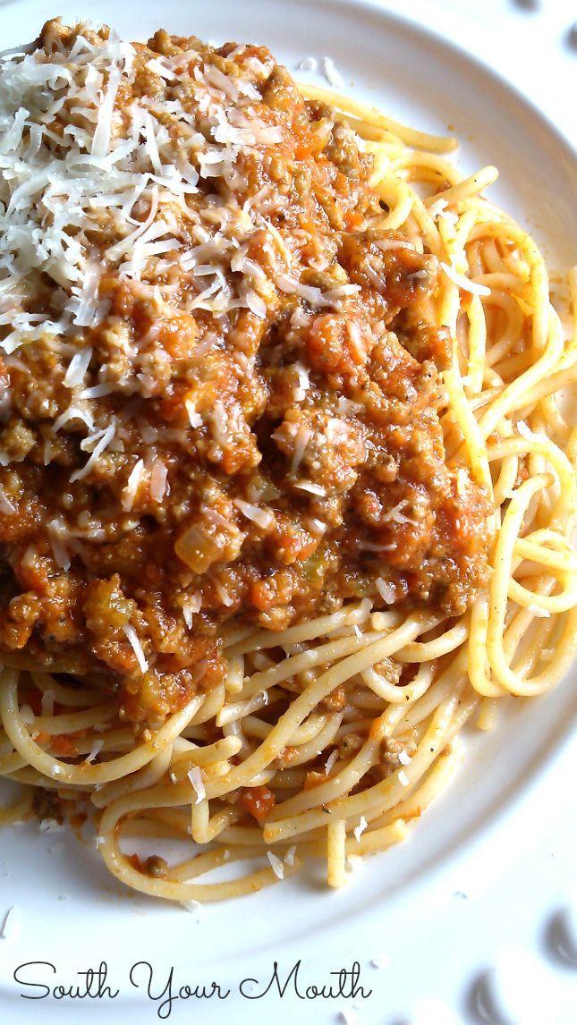 Close to true Italian Bolognese Sauce