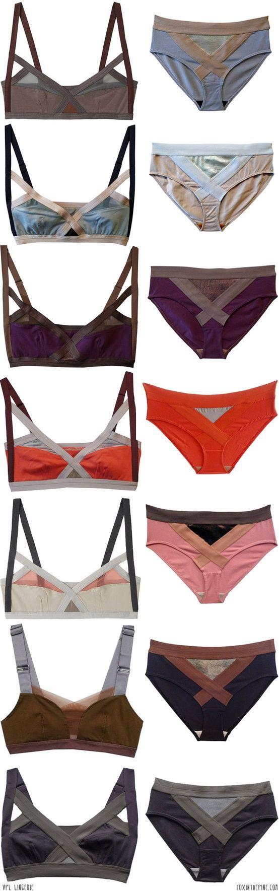 Bras and Panties SPORT CHIC - http://amzn.to/2gaTvHB
