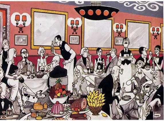 'A Party' by Mario Miranda