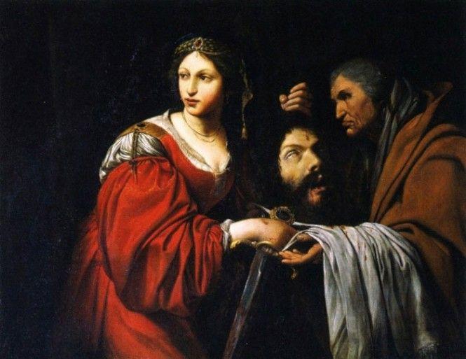 """Lionello Spada, """"Giuditta con la testa di Oloferne"""", 1618-1619, olio su tela, Galleria Nazionale, Parma"""