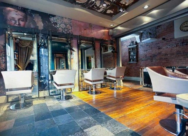 Pictures ofhair salons hair salon interior designers for Beauty salons interior designs