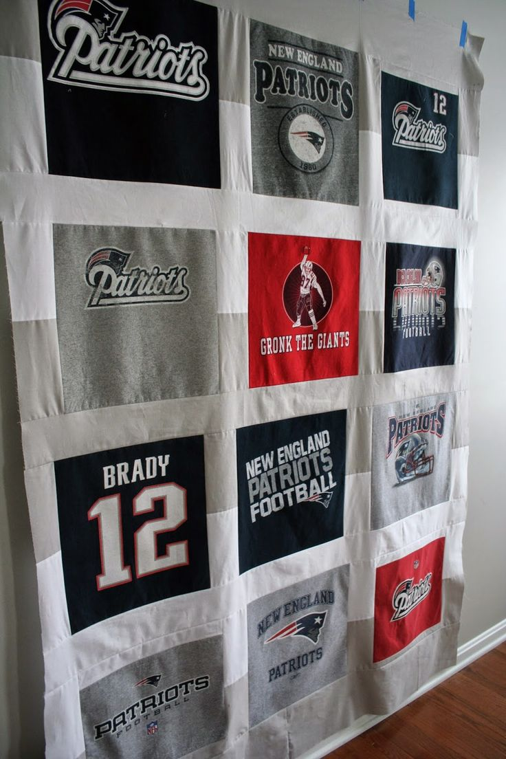 New England Patriots Quilt