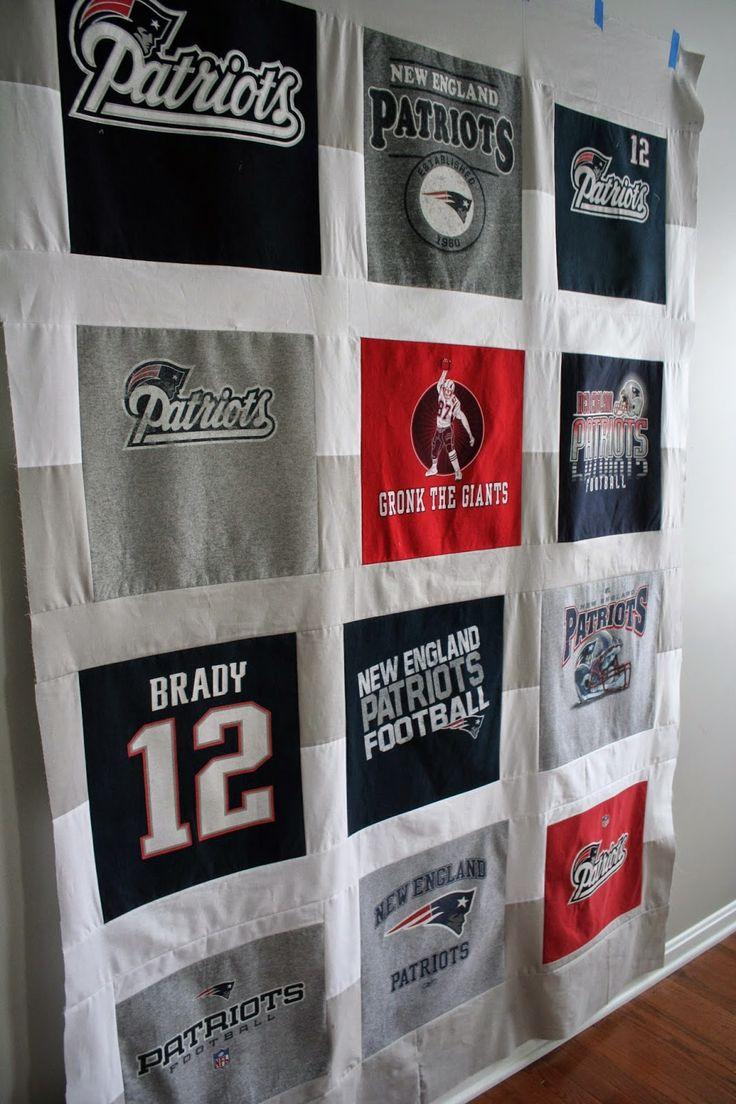 New England Patriots Quilt