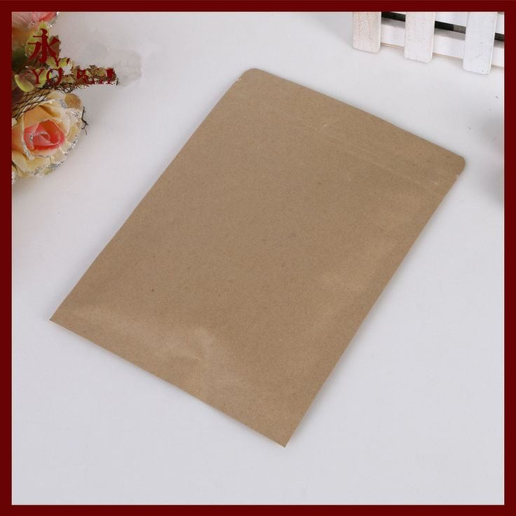 Find More Packaging Bags Information about 13*21 30pcs brown self zip lock kraft paper bags Flat version for gifts sweets and candy food tea jewelry retail package paper,High Quality bag converter,China paper wedding bag Suppliers, Cheap paper bag coffee from Fashion MY life on Aliexpress.com