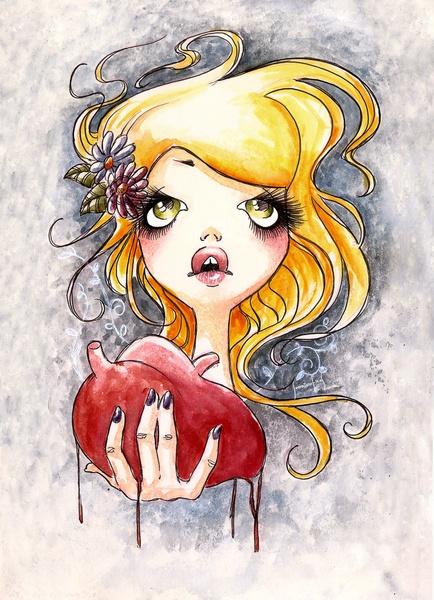 Ripped Heart Art Print