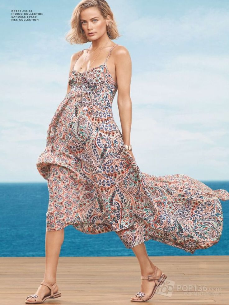 Sling Wrapped Chest On Vacation Brown Printed Skirt Maxi Dress Bohemian Dresses CN0109 Zenb.Com