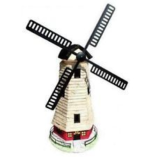 Traditional Windmill Solar Powered Wind Powered Garden