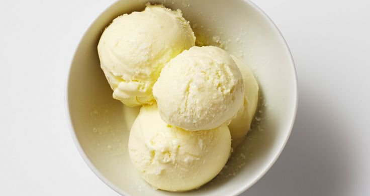 Olive oil ice cream. You might be wondering, Does this really taste good? The answer is yes. Choose a light-bodied, fruity olive oil rather than a heavy, peppery one.