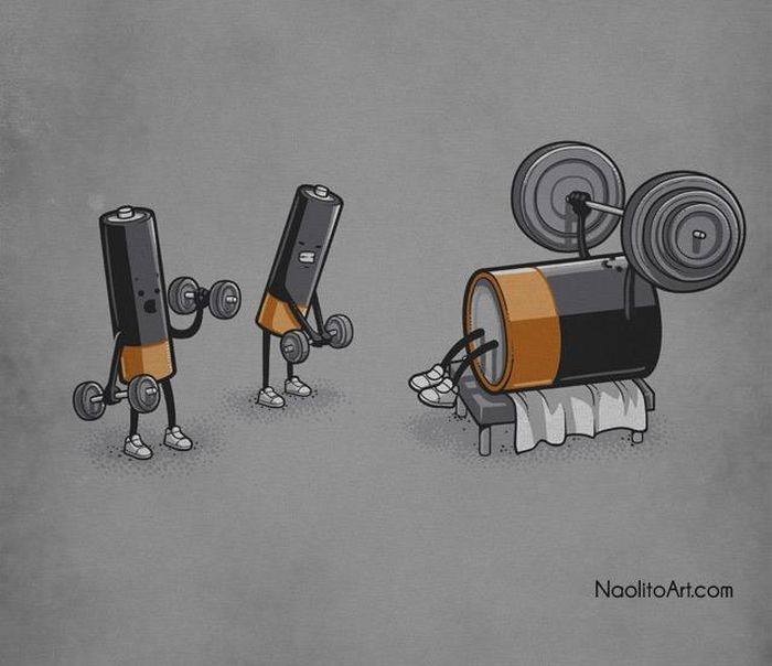 Днем рождения, аккумуляторы смешные картинки