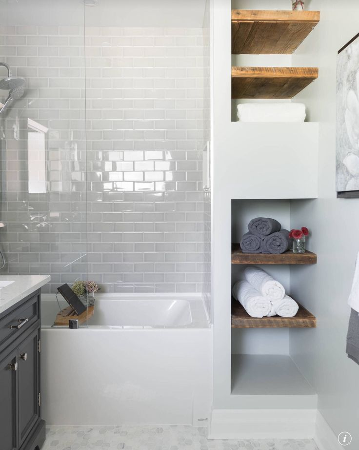 The bathroom is the smallest room in a house. Designing it to be comfortable and beautiful is a little bit tricky  #grey #bathroom #ideas #small #modern #design