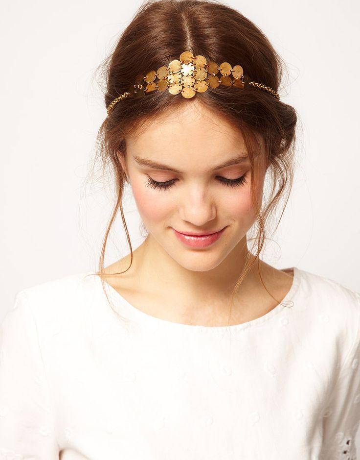 gold head piece?