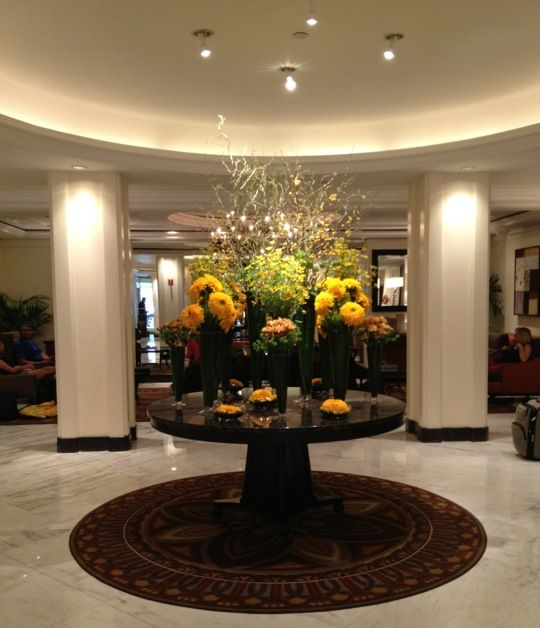 Omni Berkshire Place. My regular midtown hotel