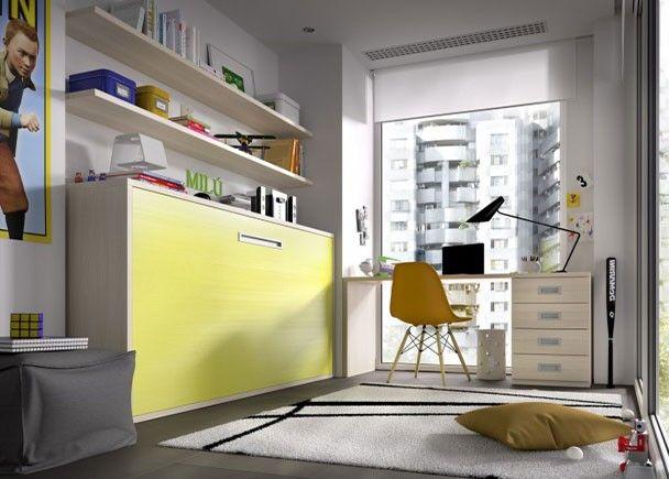 17 mejores ideas sobre camas abatibles en pinterest for Habitacion de 8 metros cuadrados
