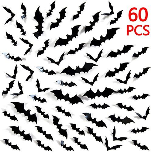 Haunter Pumpkin Carving Ideas 2020 Bats stickers great idea to decorate your living room bedroom