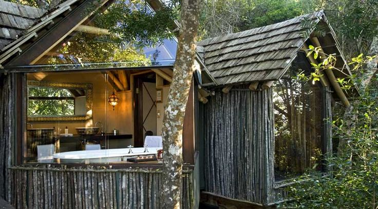 Phantom Forest treetop resort, Knysna, on South Africa's Garden Route