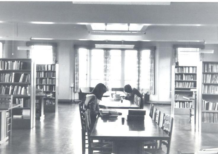 new school library 1955