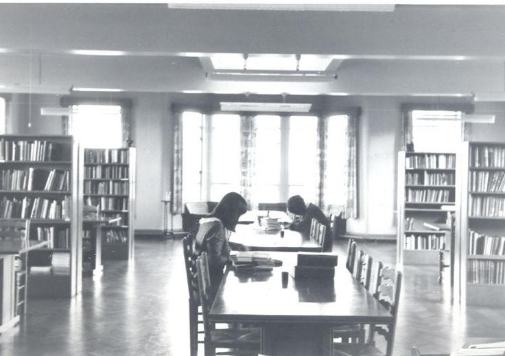 new school library 1955