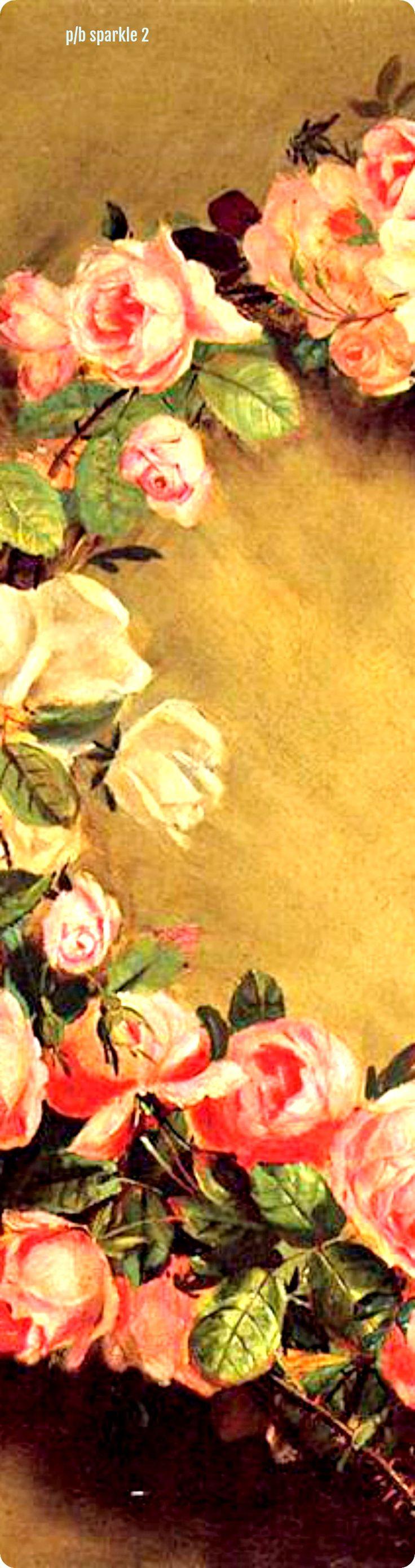 Pierre-Auguste Renoir (1841-1919): Crown of Roses, 1858 (left side)
