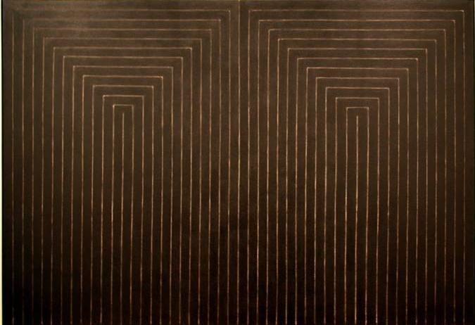Фрэнк Стелла (Frank Stella) Союз разума и нещиты 2 (1959)