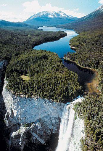 Hunlen Falls... 3rd tallest waterfall in Canada!