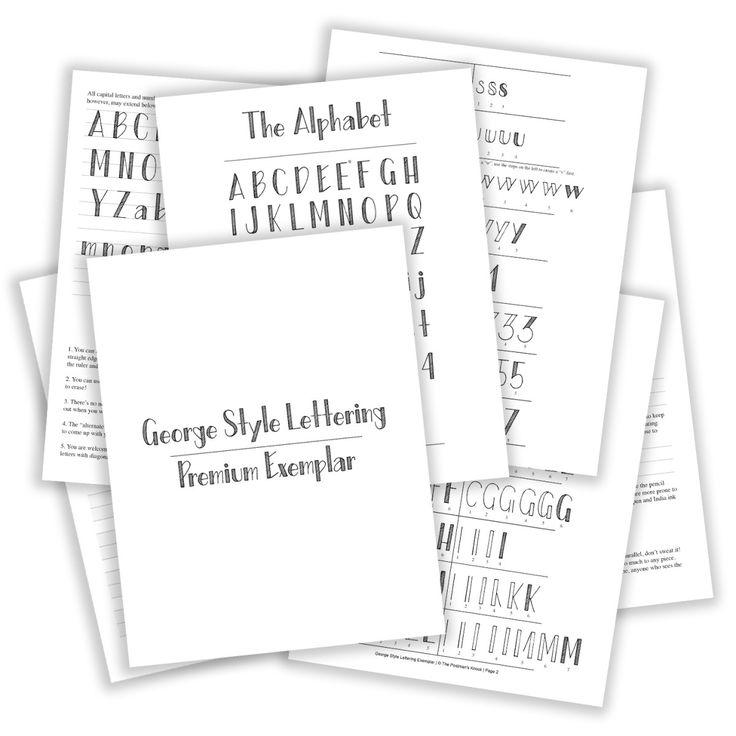 Best 20+ Hand lettering exemplars ideas on Pinterest
