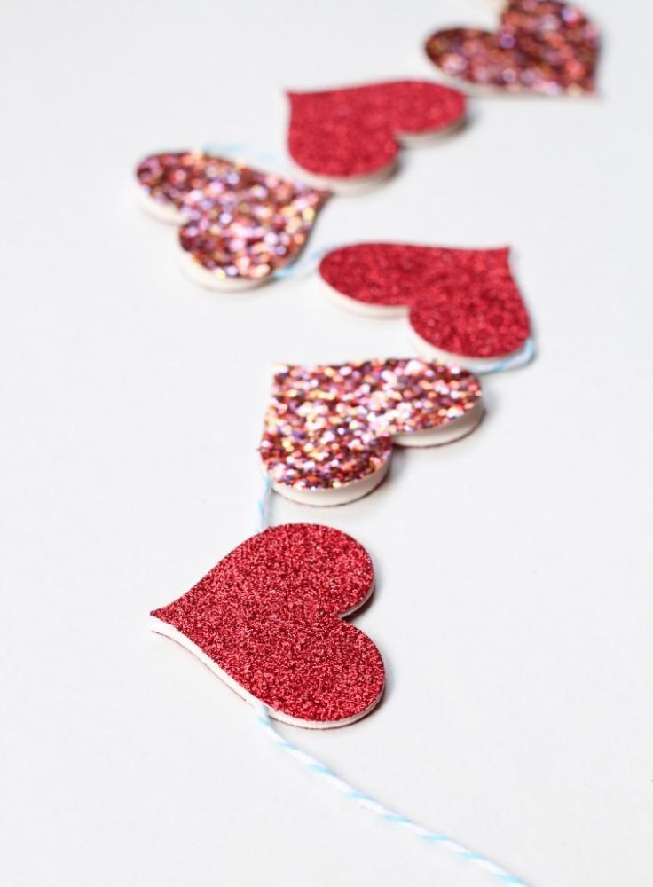 折り紙やフェルトでお手軽に♡簡単かわいいハートのインテリアDIY! | CRASIA(クラシア)