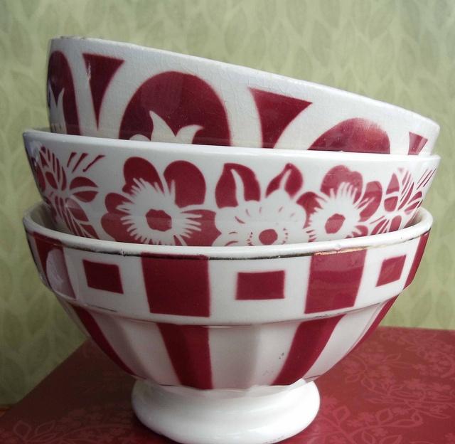 French Cafe-au-lait bowls by judyonvashon, via Flickr