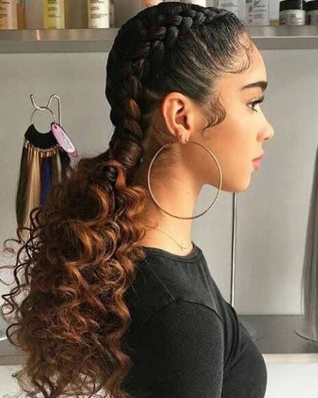 Image Result For Two Braids In Front Of Hair Goddess Braids Hairstyles Hair Styles Braided Hairstyles For Black Women Cornrows