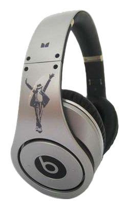 www.beatsbydrdre-drdrebeats.com  Monster Beats By Dr. Dre Studio Michael Jackson Headphones Silver.png