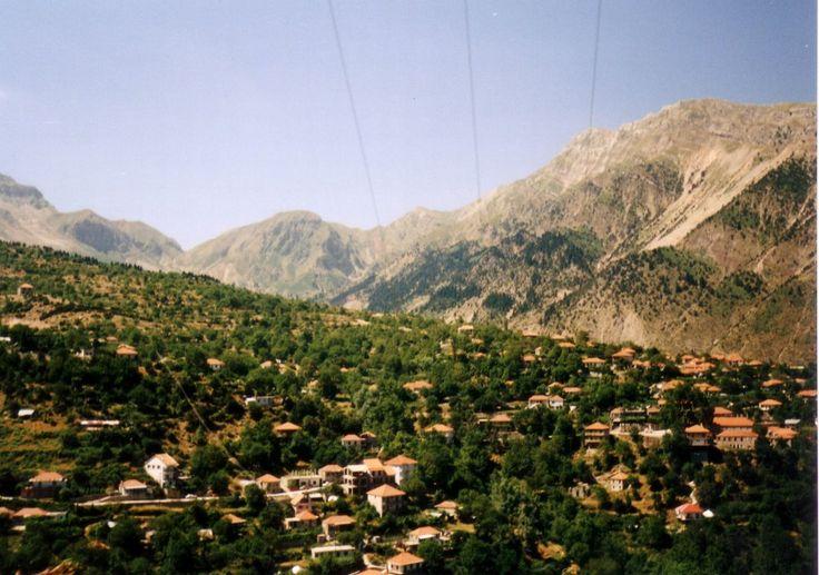 Theodoriana village Tzoumerka mountain in Arta  Epirus