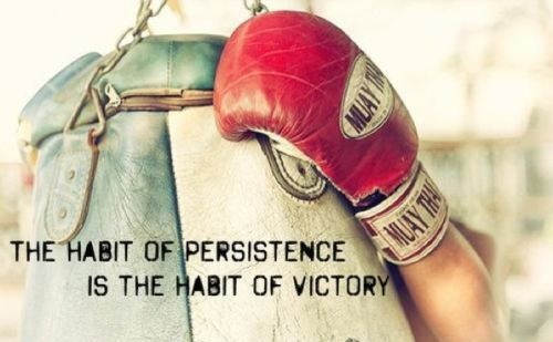 When the #tough gets going, the going gets tough. #NeverGiveUp www.titleboxingclub.com