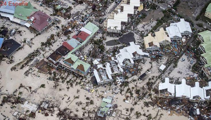 La fuerza de Irma a su paso por San Martín, captada por cámaras de seguridad