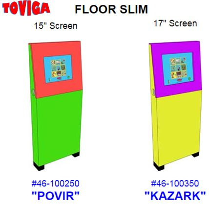 Waiting rooms are pretty boring for kids. Keep kids occupied in your dental facility with Toviga's touchscreen kiosks.