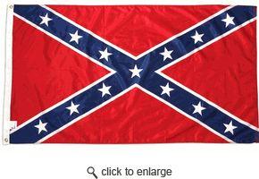 3x5 ft Super-Knit Confederate Flag