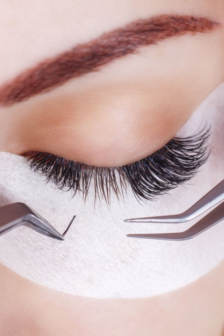 9d340e5f8a4 Find out if eyelash extensions damage your natural lashes, how to shower  and wash your