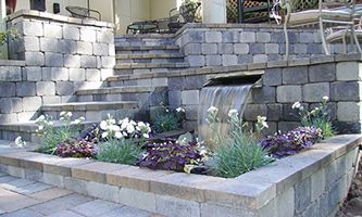 31 Best Images About Paver Retaining Wall On Pinterest