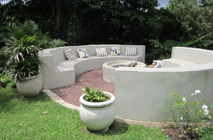 The fire-pit!