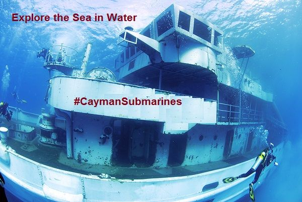 Explore the Sea in a Submarine and Descend into the Waters of Grand Cayman. Fun Activities & Things to do in Cayman Islands