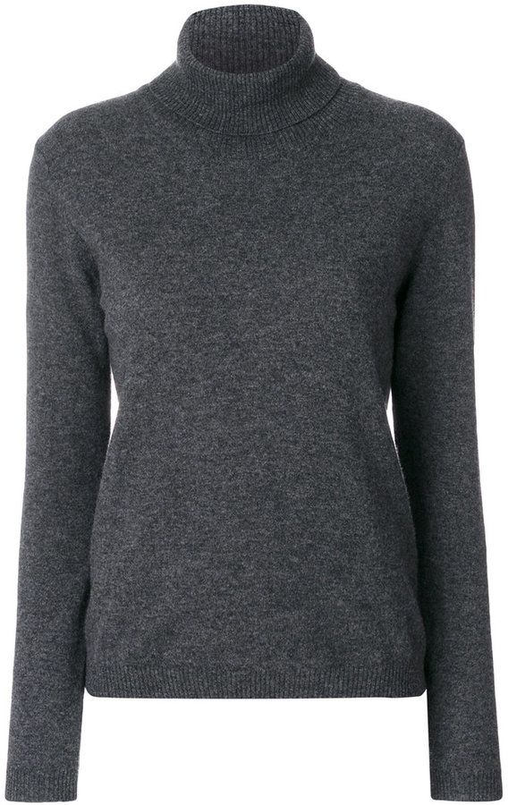 P.A.R.O.S.H. ribbed roll neck sweater
