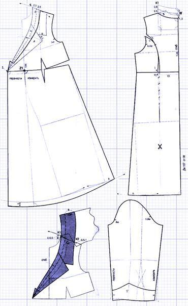 Бесплатно выкройки платье халат сарафан