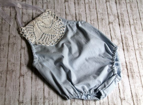 LUCAS Bubble Romper 6-12 MONTH by LorasBabyBoutique on Etsy