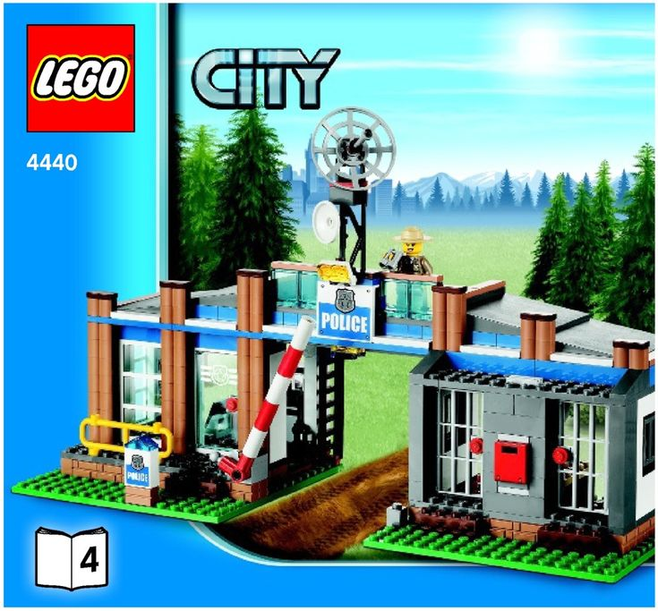 City - Forest Police Station [Lego 4440]